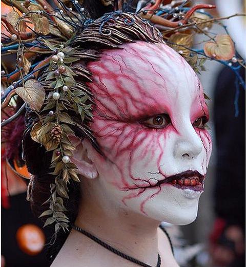 japan zombie in halloween