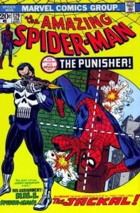 Primera aparición del Punisher