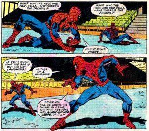 ¡Estoy viendo doble! ¡Cuatro Spider-Man!
